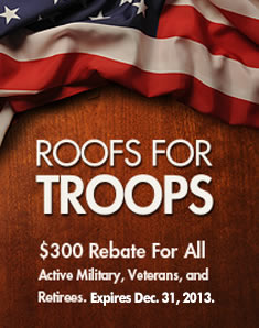 $300 Rebate for All Active Military, Veterans and Retirees.